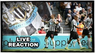 Live Video | Newcastle United 1-2 Spurs