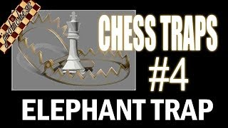 Chess Traps 4 Queens Gambit Declined Elephant Trap
