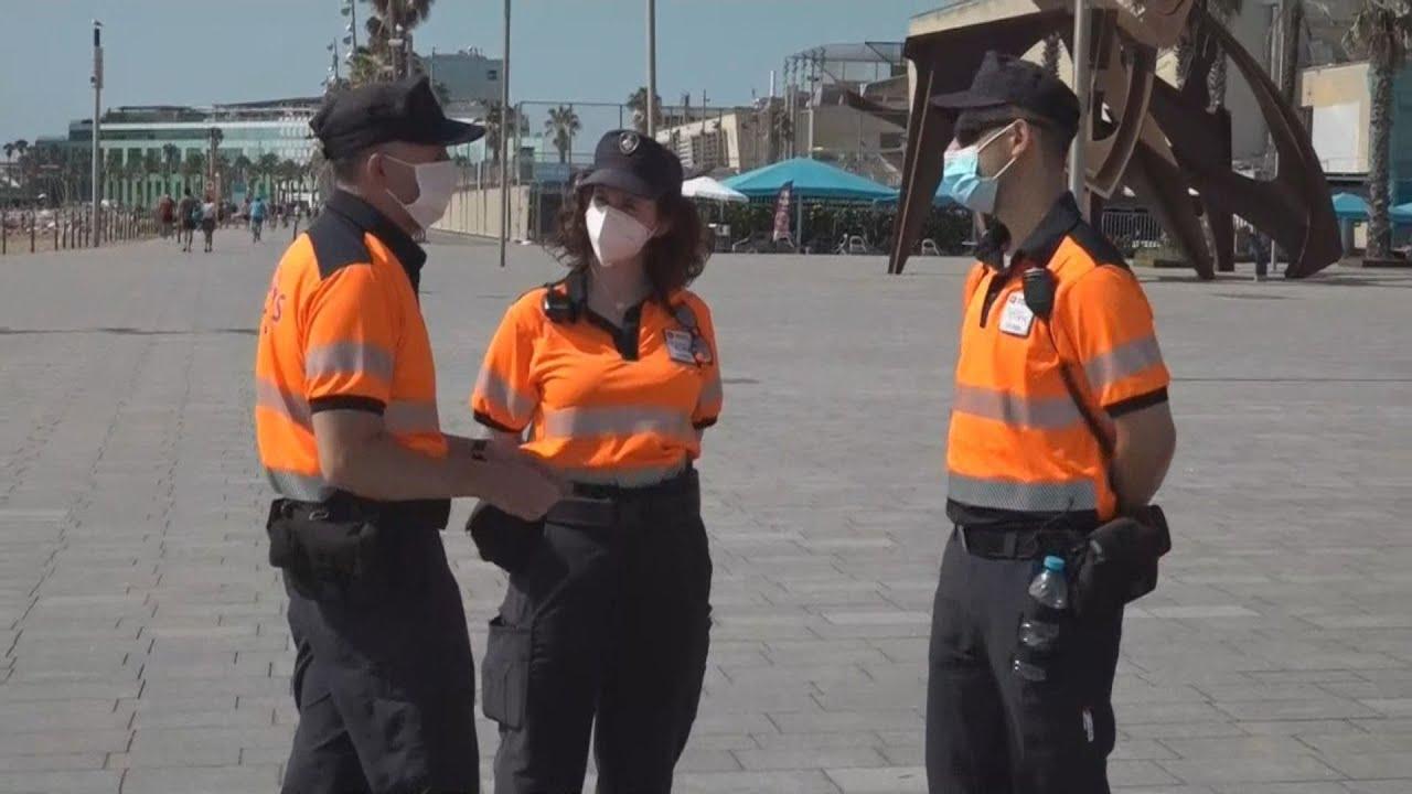 Η Βαρκελώνη επιστρατεύει 230 υπαλλήλους πολιτικής προστασίας για την καταπολέμηση του κορονοϊου