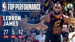 LeBron James Drops DIMES in Game 3 Victory! - Video Youtube