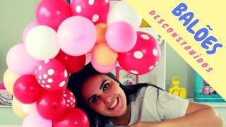 Passo a Passo: Guirlanda De Balões Desconstruídos - Centro De Mesa