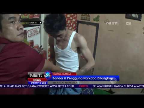 Polisi Tangkap 4 Bandar dan Pengguna Narkoba di Padang SUMBAR - NET24
