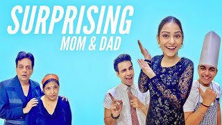 Watch SURPRISING MY MOM & DAD WITH DINNER DATE