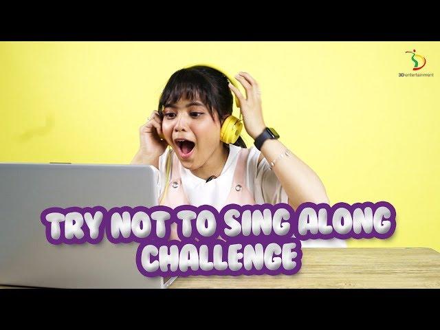 Try Not To Sing Along Challenge | Putri Shock Sampai Mau Nangis