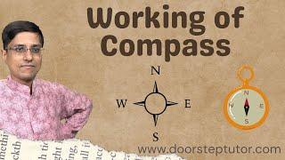 Working of Compass | Earth as Magnet | Magnetic & Geographic Poles (NCERT Class 6 Chapter 13 | NSO)