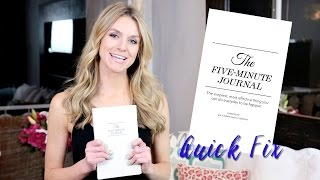 The Five Minute Journal - Quick Fix