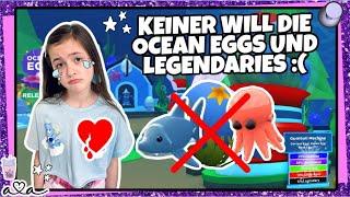 KEINE TRADES für OCEAN EGG LEGENDARY PETS in Adopt ME!! Nichts wert?! | Alles Ava Gaming