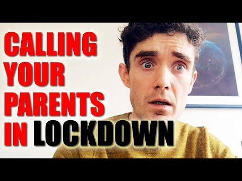 Videohovor s rodiči v karanténě