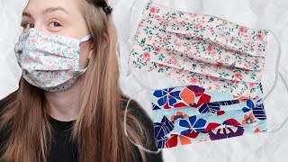 How To Make A DIY Face Mask With Filter Pocket & Bendable Nose