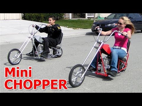 Amazing Mini Chopper Motorcycle 2017