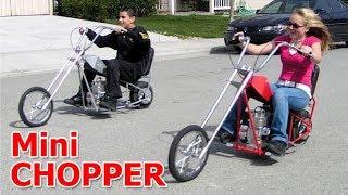 Amazing Mini Chopper Motorcycle 2017