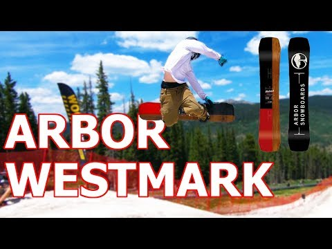 Arbor Westmark Camber Snowboard Review feat. Frank April
