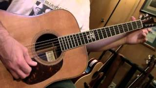 Bluegrass Guitar Lesson 1 — G, C and D