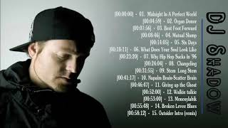 The Best Of  DJ Shadow  -  DJ Shadow Greatest Hits Full Album