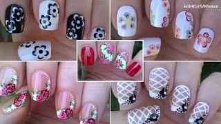 NAIL ART COMPILATION #3 - Floral Nails / LifeWorldWomen
