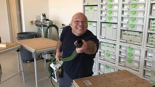 Festool Training: The Alternative Way to Carry the CT SYS Mobile Dust Extractor