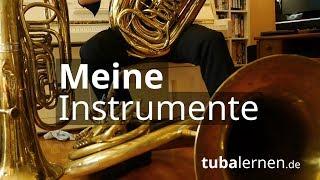 Meine Instrumente: B Tuba, Helikon Und F Tuba