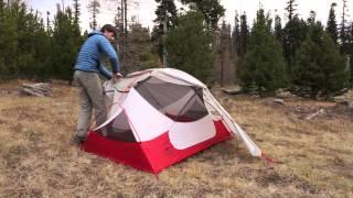 Die neuen Zelte aus der Reihe Hubba™ NX aufzustellen.