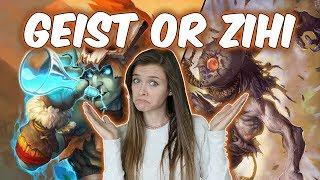 Geist vs. Zihi - Who's Better?   Evenlock Experiments