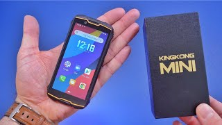 Smallest Rugged Phone Ever! Cubot KINGKONG Mini