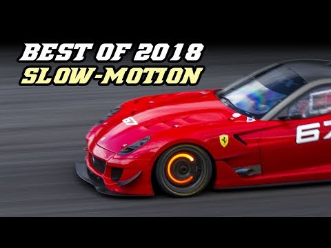 BEST OF 2018 - Motorsport in slowmotion