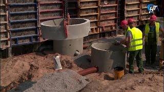 Продолжается строительство детского сада на улице Речная