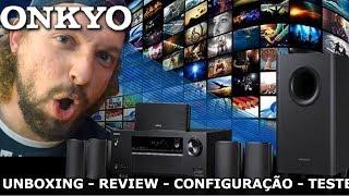 ONKYO HT-S3800   Unboxing, Review, Como Instalar, Configurações e Teste