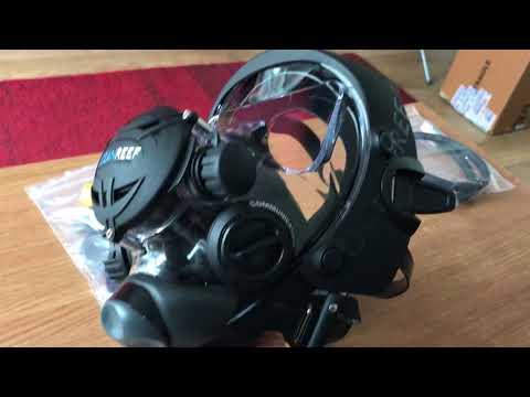 Ocean reef extender full face mask unboxing!