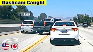 Ultimate North American Cars Driving Fails Compilation - 201 [Dash Cam Caught Video]