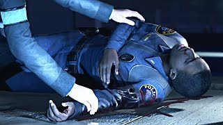 Detroit: Become Human - The Cop Connor Saved Returns to Thank Him