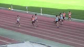 2015年第6回エコパトラックゲームズC男子100m決勝