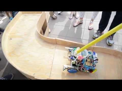 UCLA ME 2015 Robot Competition - Third Place