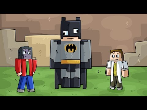 Nejhorší BATMAN! (Minecraft Build Battle) w/ Gejmr