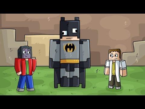 Nejhorší BATMAN! (Minecraft Build Battle) w/ Gejmr