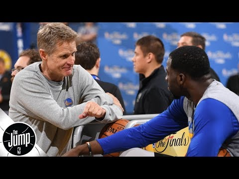 d18c0f3578b Steve Kerr possibly caught on camera saying he s  tired  of Draymond Green  -- big deal