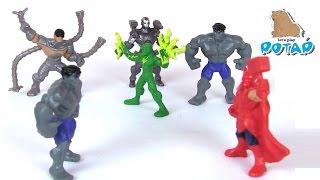 МОЩНАЯ Команда Супергероев!!! Супергерои Марвел! Игрушки для Мальчиков. Игры для Детей