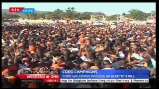CORD coalition welcomes the Electrol Bill awaiting presidential assent