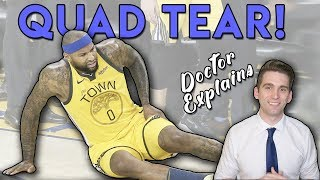 DeMarcus Cousins QUAD TEAR | Doctor's ULTIMATE Guide!