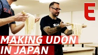 Making Udon From Scratch With A Michelin-Starred Chef — The Udon Show thumbnail