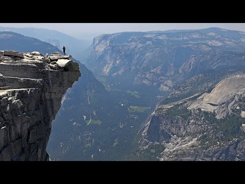 Hiking Half Dome, Yosemite National Park, USA in 4K (Ultra HD)