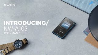 YouTube Video PdD3ff3mWAo for Product Sony NW-A100 series (NW-A105 & NW-A100TPS) Walkman by Company Sony Electronics in Industry Smartphones