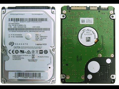 Когда жесткий диск HDD Laptop Samsung ST1000LM024 больше Seagate. Диагностика и ремонт спец.софтом