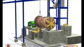Animacion Horno Limpieza de Escoria HLE Nº1