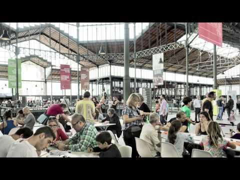 Presentación del Big Draw Barcelona 2013