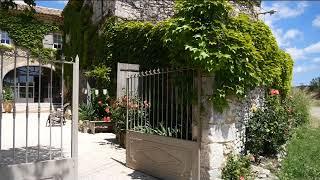 Printemps à la Bastide de Lussan : la couleur des vacances, Charme et sérénité