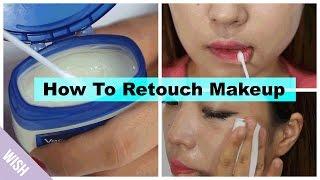 How to Retouch Makeup | Beauty Secret