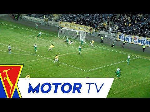 WIDEO: Motor Lublin - Wisłoka Dębica 1-0 [SKRÓT MECZU]