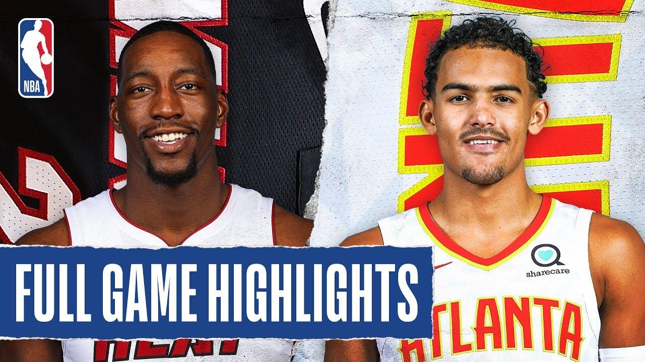 Miami Heat vs Atlanta Hawks [Thu, Feb 20, 2020]