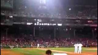 Red Sox Fans Sing Bob Marley 'Three little birds' Fenway Park  World Series Shane Victorino