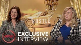 THE HUSTLE   Exclusive Interview (Anne Hathaway, Rebel Wilson) | AMC Theatres (2019)